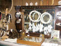 Fur hats and accessories in our store