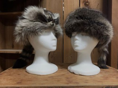 Davy Crockett Coonskin Hat for Kids